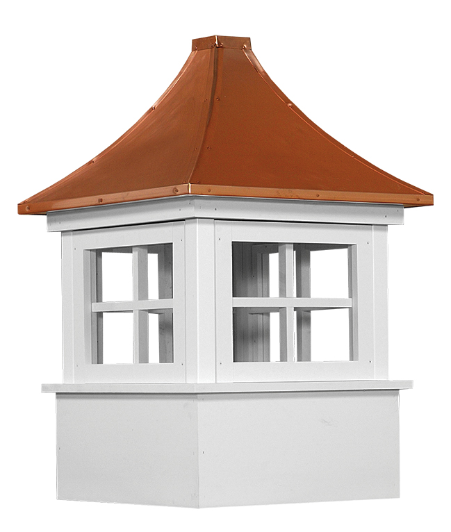 Carlisle vinyl cupola for any barn shed or garage for Shed cupola