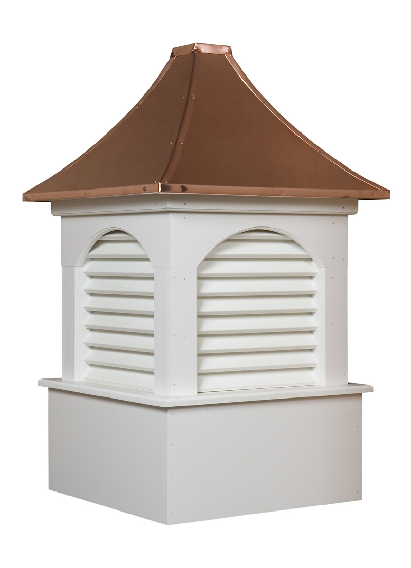 The dalton vinyl cupola will add beauty to any home or garage for Cupola for garage