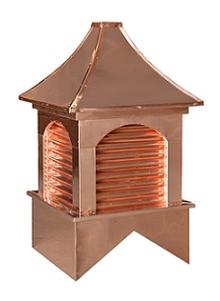Louvered cupolas country cupolas and weathervanes for Country cupola