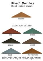 Shed Cupola Color Options